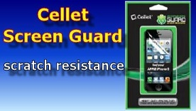 Cellet Screen Guard for iPhone55C5S